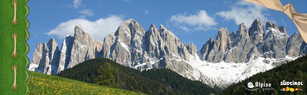 Malge e Panaorama in Val di Funes